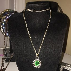Jewelry - Emerald Green Colored Necklace